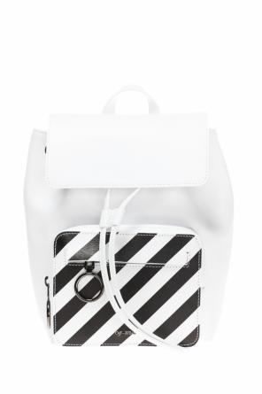 Backpack with a logo od Off White