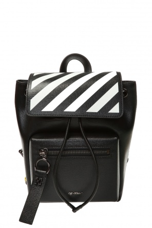 'diag binder' backpack od Off White