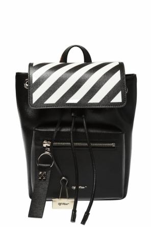 Backpack with decorative straps od Off White