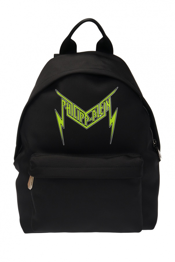 Philipp Plein Logo backpack