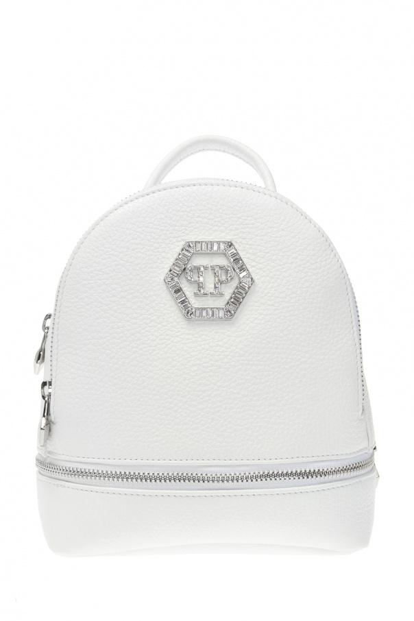 Philipp Plein Backpack with logo