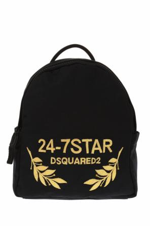 Appliqued backpack od Dsquared2