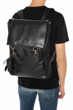 Backpack with leather inserts od Maison Margiela