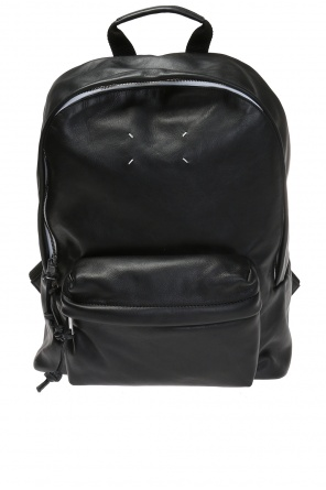 Logo-embroidered backpack od Maison Margiela