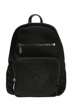 Embroidered backpack od Balmain