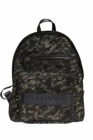 Camo backpack od Balmain