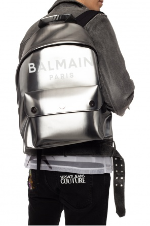 Logo backpack od Balmain