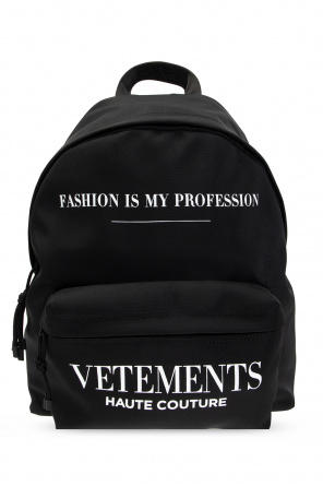 Backpack with logo od VETEMENTS