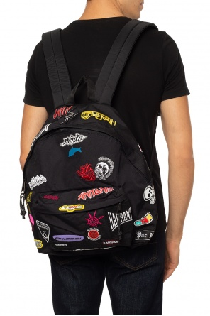 Appliquéd backpack od Vetements
