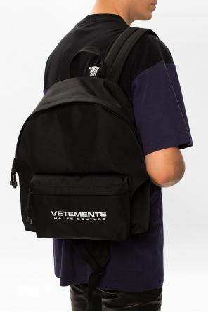 Logo-printed backpack od Vetements