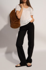 The Row Suede backpack