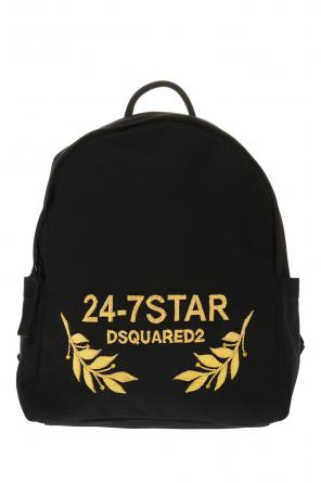 Logo-appliqued backpack od Dsquared2