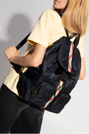 Backpack with numerous pockets od Paul Smith