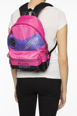 Logo-printed backpack od Plein Sport