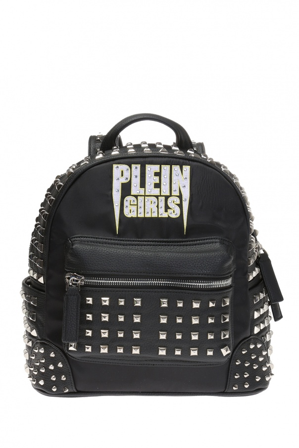 a2d22ec28d0 Backpack with  Plein Girls  motif Philipp Plein - Vitkac shop online