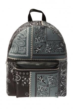 Printed backpack od Amiri