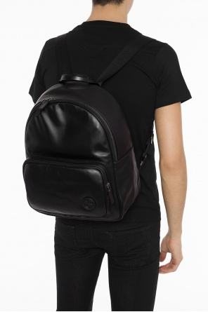 Logo-embossed backpack od Giorgio Armani
