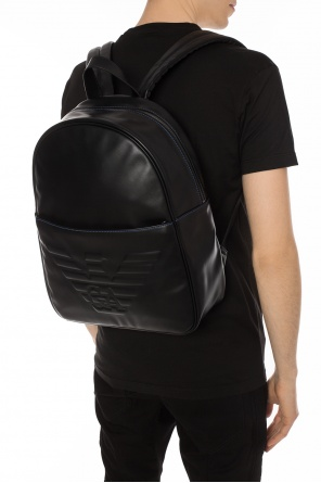 Embossed logo backpack od Emporio Armani