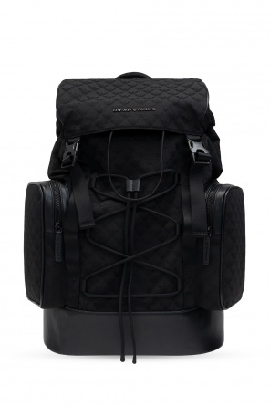 Backpack with pockets od Emporio Armani