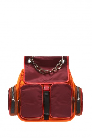 Backpack with embossed logo od Marni