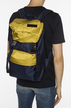 Backpack with logo patch od Marni