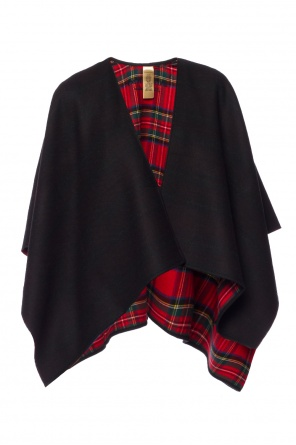 Checked poncho od Burberry