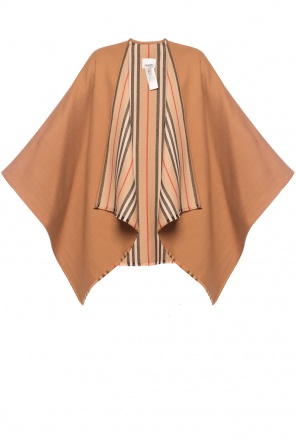 Wool poncho od Burberry