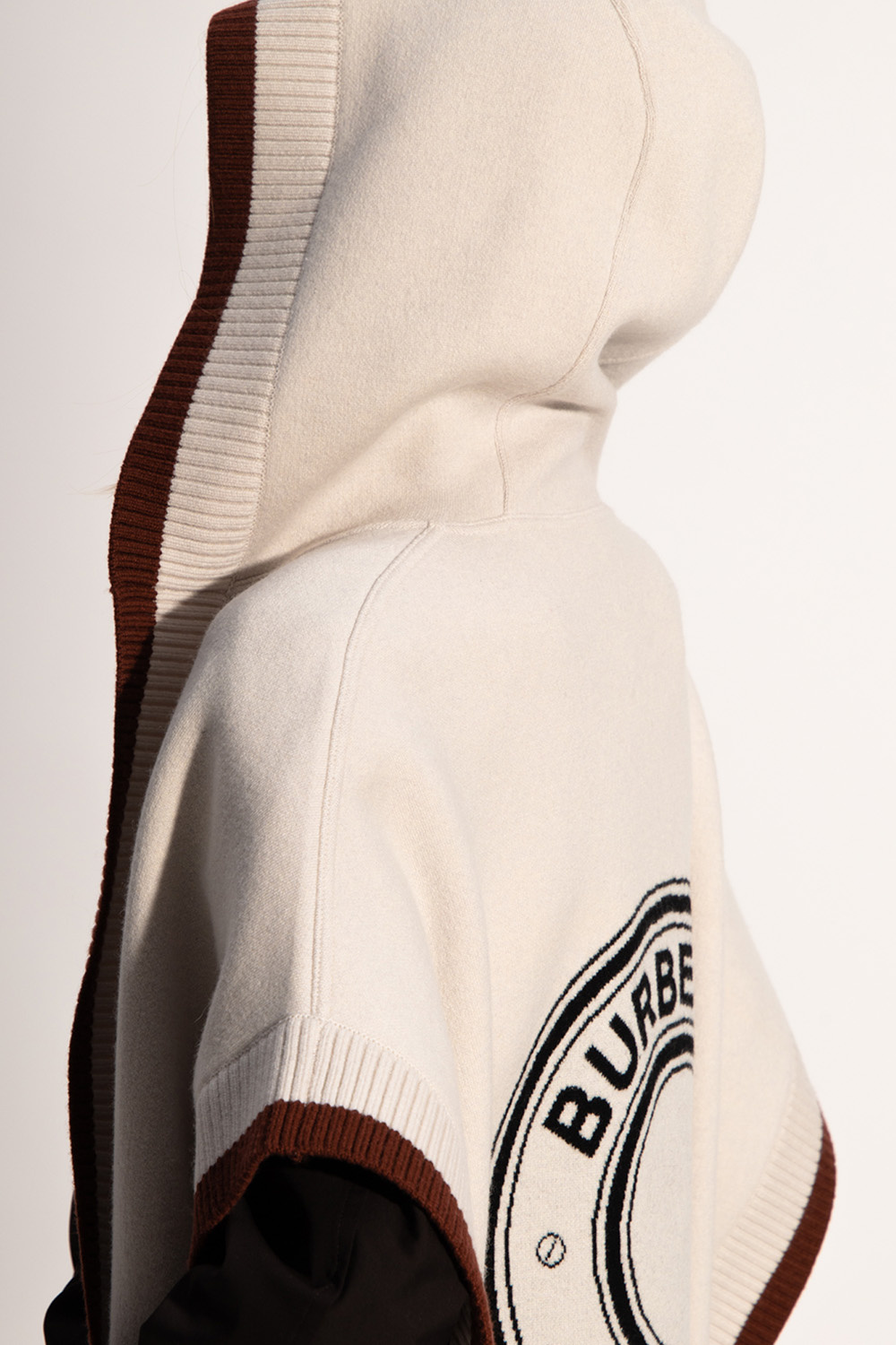 Burberry Hooded poncho