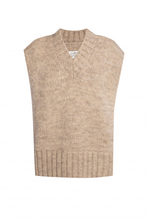 Wool poncho od Maison Margiela
