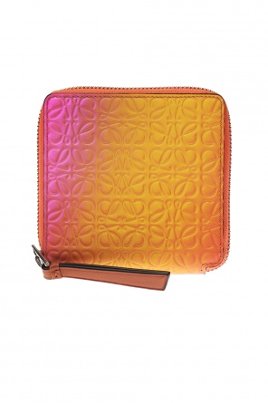 cdc8948ef242 ... Patterned wallet with a logo od Loewe