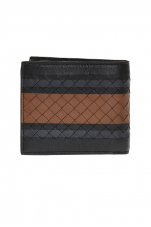Wallet with 'intrecciato' pattern od Bottega Veneta