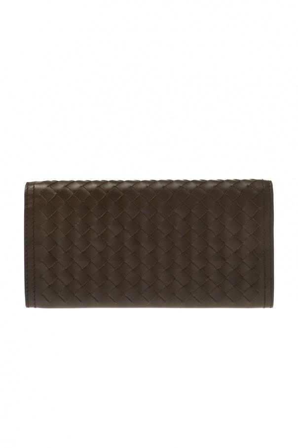'intrecciato' pattern bi-fold wallet od Bottega Veneta