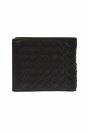 Leather bi-fold wallet od Bottega Veneta