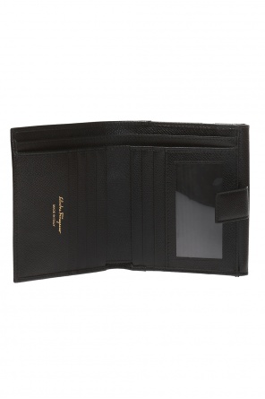 Wallet with a decorative clasp od Salvatore Ferragamo