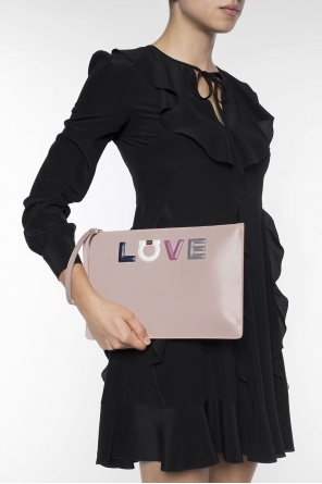 Leather clutch od Salvatore Ferragamo