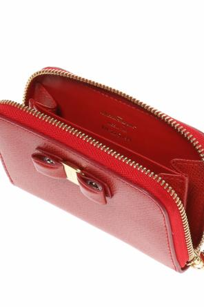 Wallet with a bow-shaped application od Salvatore Ferragamo