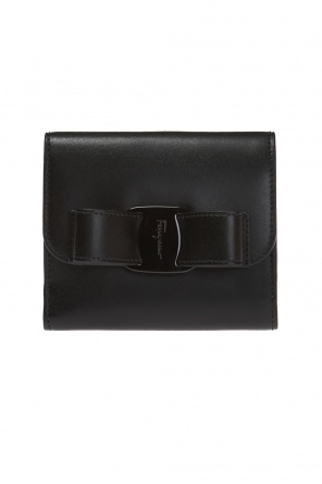 Wallet with an application od Salvatore Ferragamo