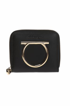 Wallet with a logo-shaped application od Salvatore Ferragamo