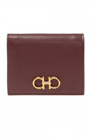 Leather wallet with logo od Salvatore Ferragamo