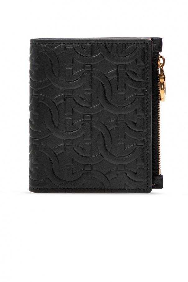 Salvatore Ferragamo Leather wallet with logo