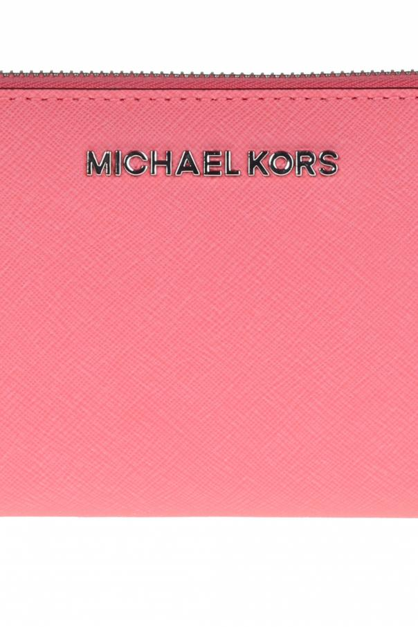 SkÓrzany portfel 'jet set travel' od Michael Kors