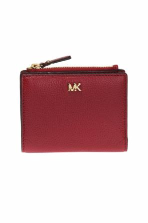 Wallet with a metal logo od Michael Kors