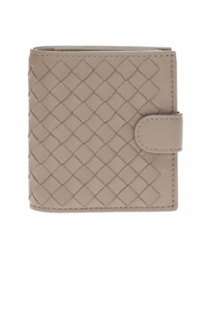 Wallet with an 'intercciato' braid od Bottega Veneta