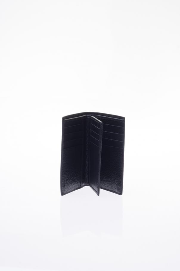 9b310a8a9dfc Metal Tag Leather Bi-Fold Wallet Gucci - Vitkac shop online