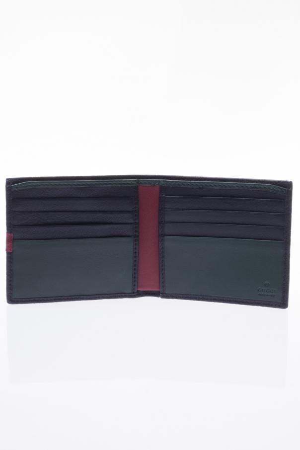 1bdbaa26b9a9 Microguccissima' leather bi-fold wallet Gucci - Vitkac shop online