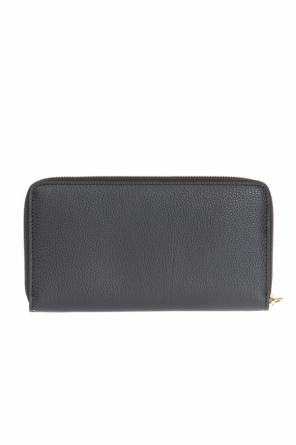 Wallet with decorative charm od Alexander McQueen