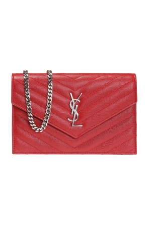 'monogram' wallet on chain od Saint Laurent