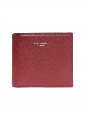 Bi-fold wallet with logo od Saint Laurent