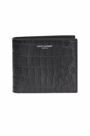 Logo bi-fold wallet od Saint Laurent