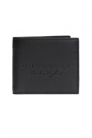 Bi-fold wallet with logo od Burberry